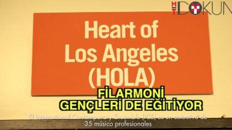Los Angeles Filarmoni'den gençlere