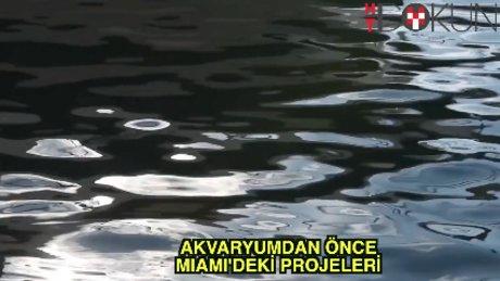 Akvaryumun fikir babasının Miami projesi