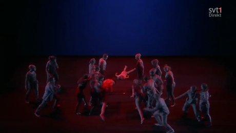 Eurovision yarı finaline 'Kaçışın Dansı'' damgasını vurdu