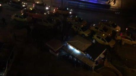 Kadıköy'deki silahlı kavga kamerada