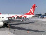 THY'nin milli takım için boyadığı uçak görüntülendi
