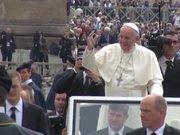 Papa, Brezilya için dua etti, Bektaşi lideriyle görüştü