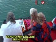 Sandra'nın külleri Fethiye'de