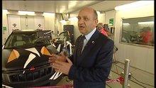 Bakan Işık, Habertürk TV'de yerli otomobili tanıttı