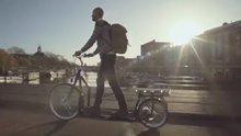 Dünyanın İlk Elektrikli Yürüyüş Bisikleti