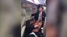Manchester United otobüsü'nün zor anları!