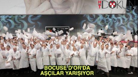 Bocuse D'or'da aşçılar yarışıyor