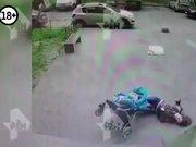 Rusya'da akılalmaz kaza!