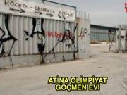 Atina Olimpiyat stadyumu 15 bin göçmeni ağırlıyor