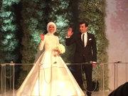 Sümeyye Erdoğan ile Selçuk Bayraktar nikah töreni