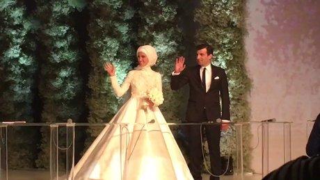 Sümeyye Erdoğan'ın nikah töreni