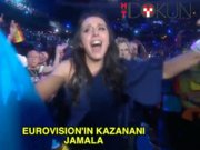 Eurovision'un birincisi Ukraynalı Jamala
