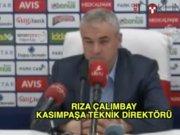 Kasımpaşa - Mersin İdmanyurdu maçının ardından