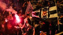 Beşiktaş'ta büyük kutlama