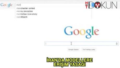 İran'da modellere sansür