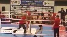 Azeri ve Ermeni sporcular birbirine girdi