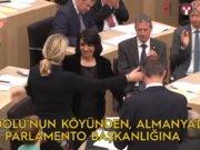 Anadolu'nun köyünden Almanya'da Parlamento başkanlığına...