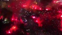 Benfica taraftarı böyle kutlama yaptı