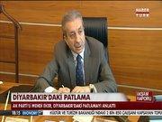 Mehdi Eker, Diyarbakır saldırısını HABERTÜRK'e anlattı