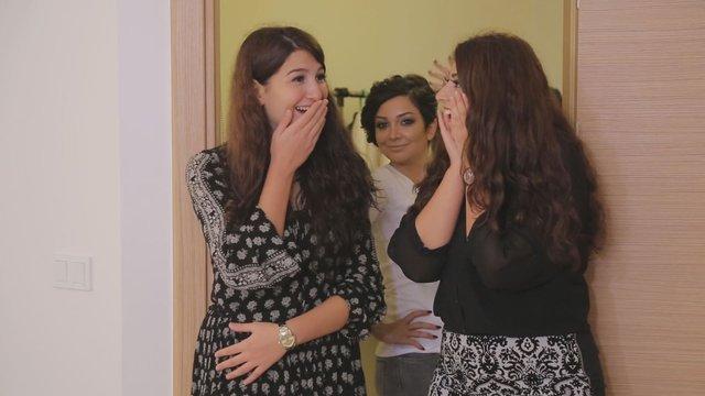 Sidal ve Nilüfer Hanım'ın mutluluk dolu anları!