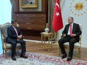 Davutoğlu Cumhurbaşkanı Erdoğan'ı ziyaret etti