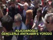 Kılıçdaroğlu Anıtkabir'e yürüdü