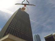163 metreden rekor basket!