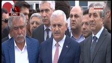 Binali Yıldırım Diyarbakır'da konuştu