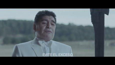 Maradona reklam yıldızı
