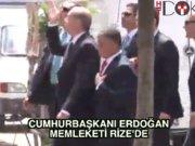 Cumhurbaşkanı Erdoğan Rize'de önce sure okudu, sonra halka seslendi