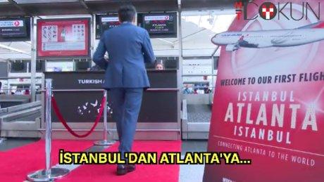 İstanbul'dan Atlanta'ya Türk Hava Yolları farkıyla