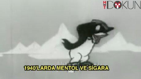 1940'larda mentol ve sigara