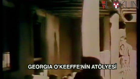 Georgia O'Keeffe'nin atölyesi ve iç dünyası