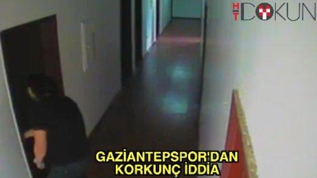 Gaziantepspor'da hırsızlık iddiası