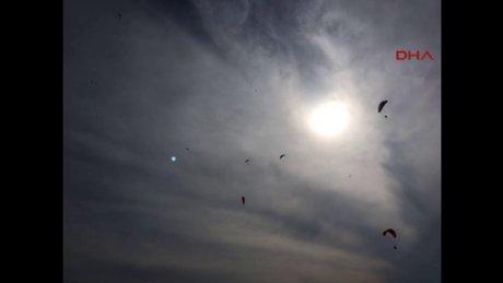 Fethiye'de gökyüzünde UFO görüldü iddiası