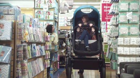 Yetişkinler için bebek arabası
