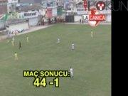 Müthiş maçta gol yağdı: 44-1