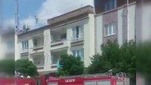 3 Katlı binanın tepesinden ölüme atladı