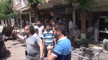HDP'lileri Sur esnafından polis korudu