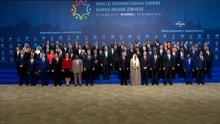 Dünya İnsani Zirvesi'nde aile fotoğrafı