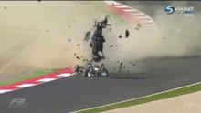 Formula 3'te korkunç kaza!