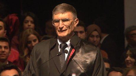 Prof. Dr. Aziz Sancar: ''İstiklal marşı'nı duyduğumda Gata'daki gazilerimizi hatırlıyorum''