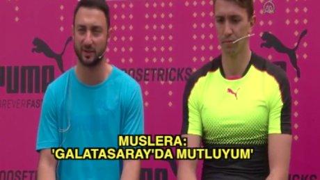 Muslera: Galatasaray'da kalmak istiyorum