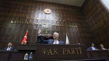 Başbakan Binali Yıldırım ilk defa AK Parti grubuna seslendi