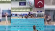 Yüzme yarışlarında ölüm şoku