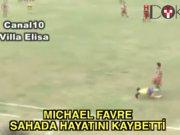 Arjantinli futbolcu Favre sahada öldü