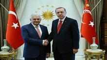Erdoğan, Binali Yıldırım'ı kabul etti