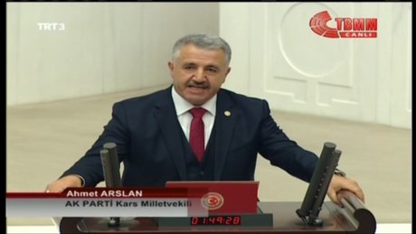 Ulaştırma bakanı Ahmet Arslan seçildi