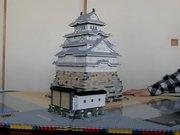 LEGO'dan yapılan Pop-up Kale: Himeji Kalesi