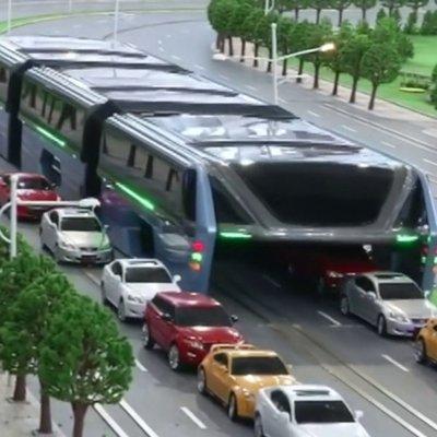 Çin'de trafiği rahatlatacak proje